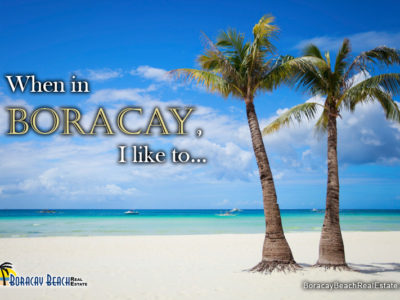 What Are The Things To Do When In Boracay
