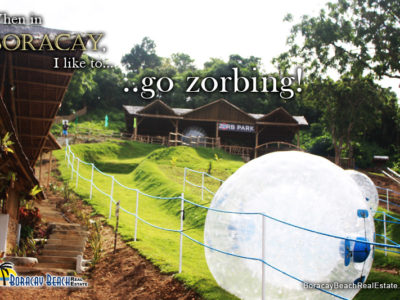 New Found Adventure In Boracay With Zorbing