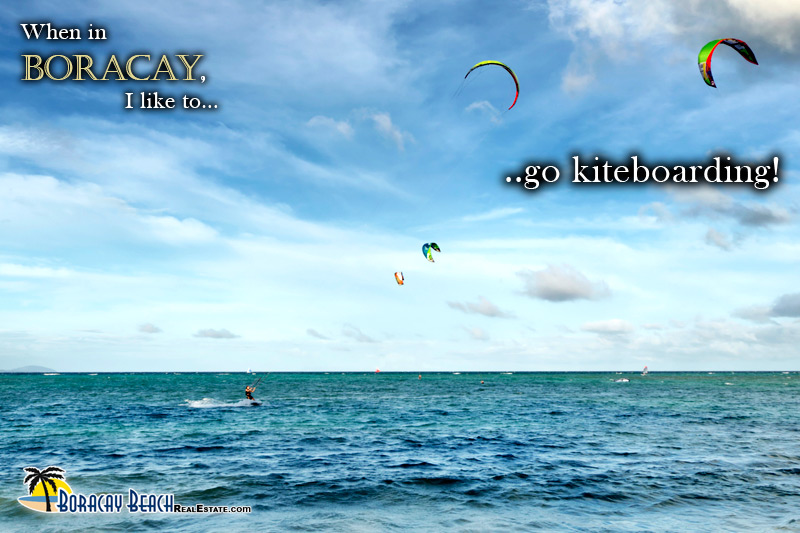 Fly Your Self By A Kite In Boracay