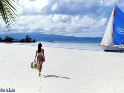 Walking Bare-Footedly At The Boracay Beach