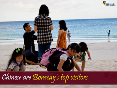 Chinese Tourist Top in Boracay Tourism