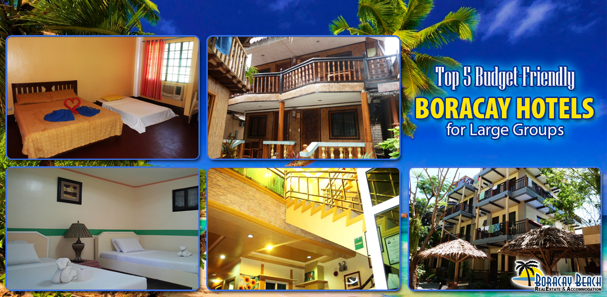 Top 5 budget hotels in Boracay for Large Groups