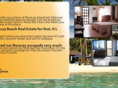 Client Testimonial for The Boracay Beach