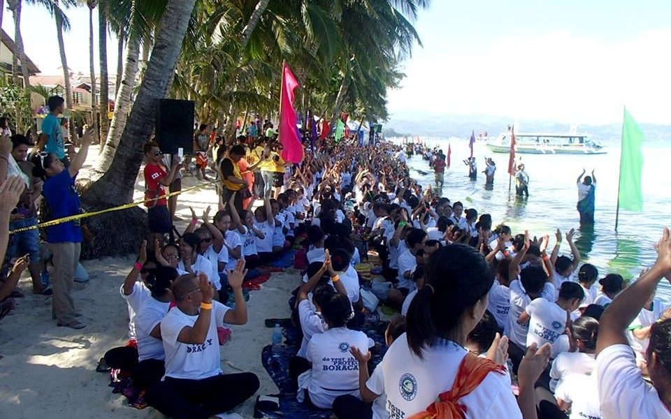 Boracay Longest Massage Chain