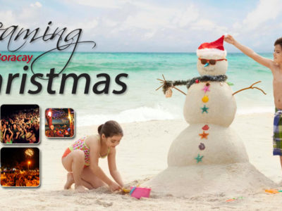 Celebrating Christmas and New Year in Boracay
