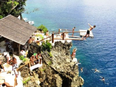 Ariels Point Cliff Diving and Party Cruise Dive Boracay Beach Guide