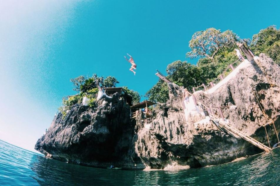 Ariels Point Cliff Diving and Party Cruise Dive02 Boracay Beach Guide