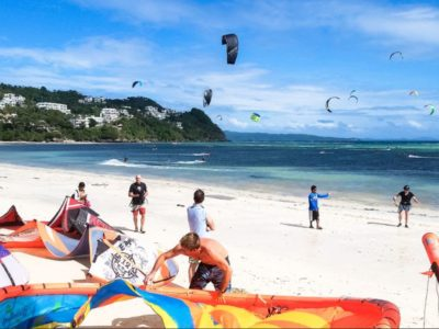 Beginner Kiteboarding Course Kites Boracay Beach Guide
