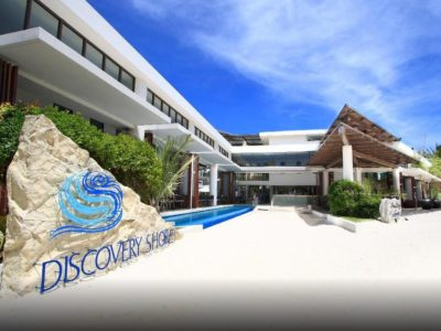 Discovery Shores Entrance Boracay Beach Guide