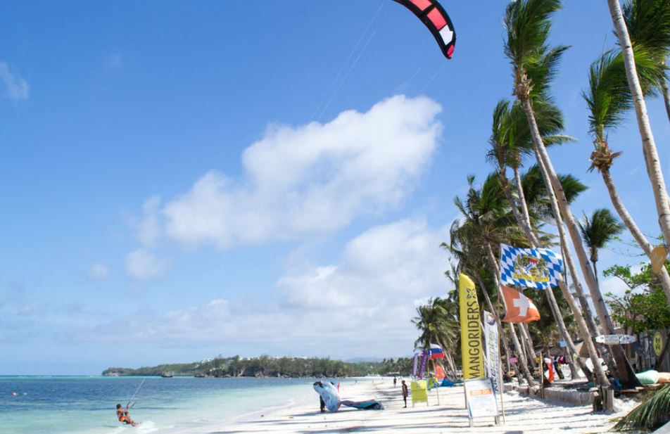Flying Inflatable Doughnut Experience Shore Boracay Beach Guide