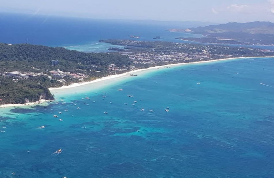 Helicopter Sightseeing Tour Boracay Boracay Beach Guide
