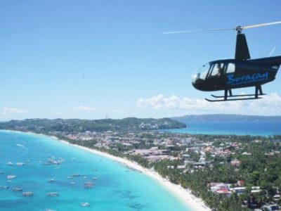 Helicopter Sightseeing Tour Shore Boracay Beach Guide