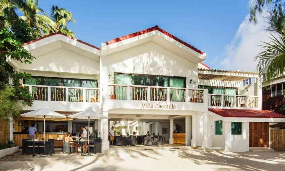 Villa Caemilla Beach Boutique Hotel boracaybeach.guide